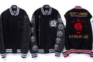 Stussy x Nine Rulaz Line x Mighty Crown Varsity Jackets