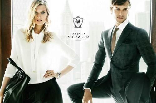 Massimo Dutti Autumn/Winter 2012 Advertising Campaign