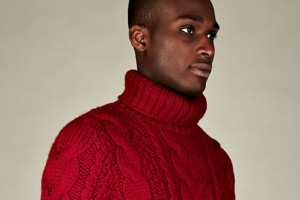 Maison Martin Margiela 14 Men's Replica Chunky Rollneck Knit