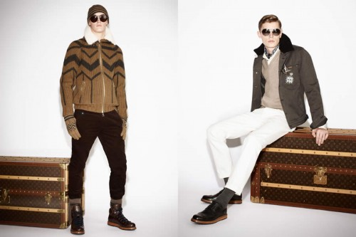 Louis Vuitton Autumn/Winter 2013 Pre-Collection Men's Lookbook