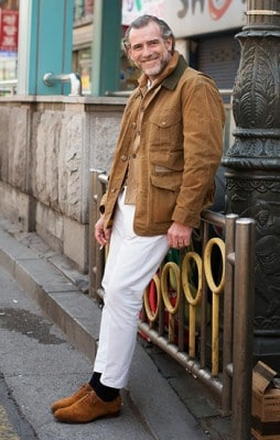 Alessandro Squarzi, Photographed in Seoul - Click Photo To See More