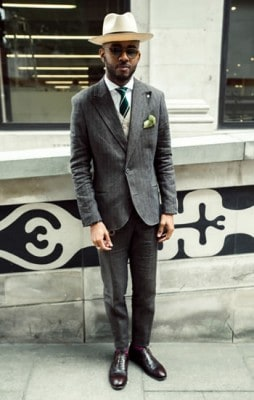 Martell Campbell, Photographed in London - Click Photo To See More