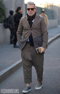 Nick Wooster, Photographed in Milan - Click Photo To See More