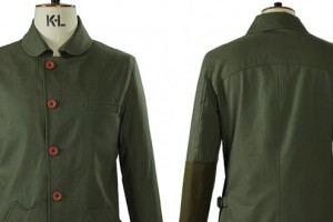 Oliver Spencer Surveillance Jacket in Turner Green