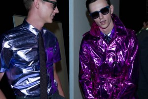 Men's SS13 Fashion Trend Preview: Metallics