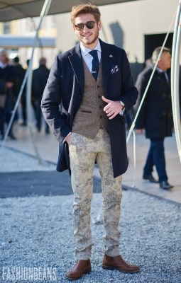 Stefanos Grigoriadis, Photographed in Pitti Uomo - Click Photo To See More