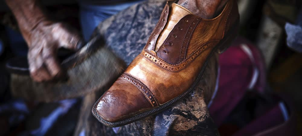 The Men's Shoe Care Manual