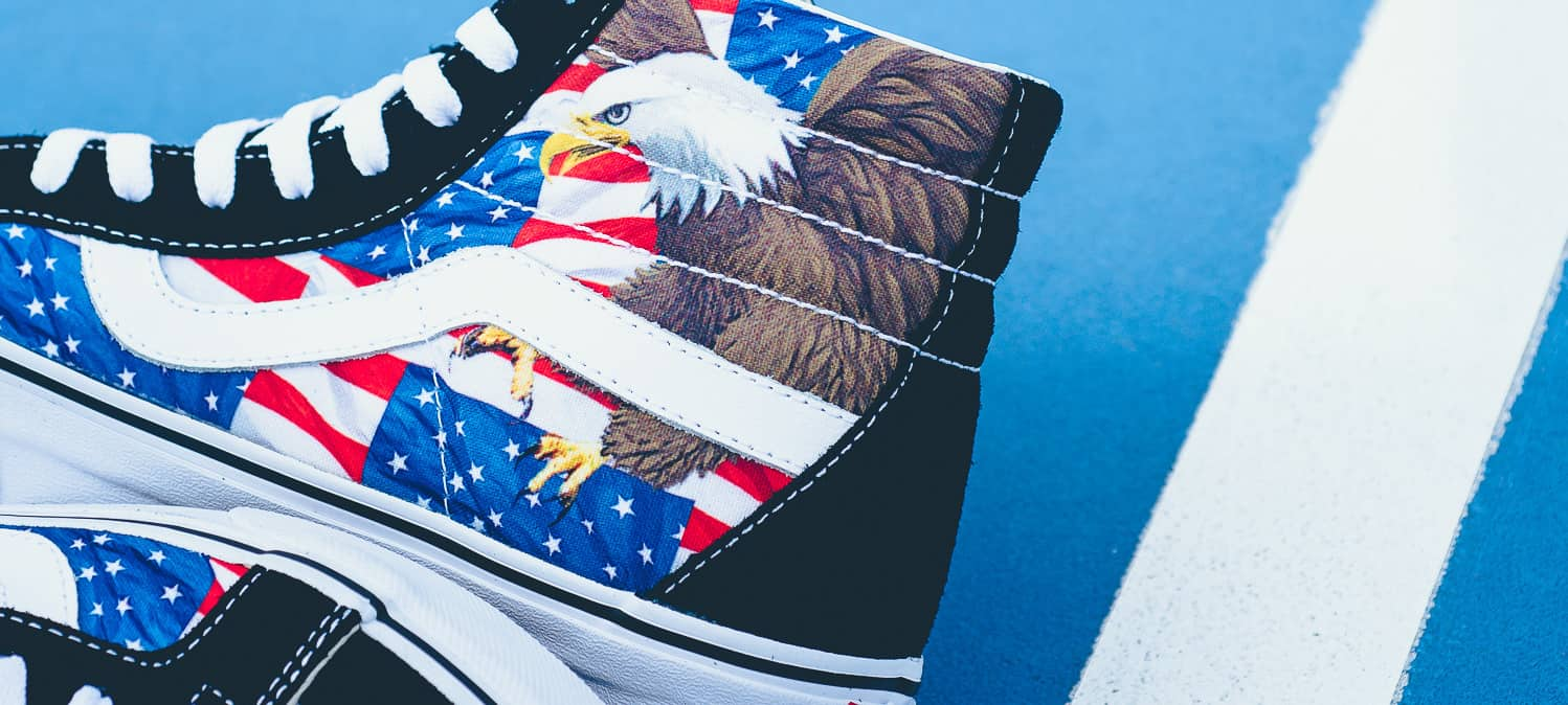 If You Don't Cop Vans' American Freedom Pack Then The Terrorists Win