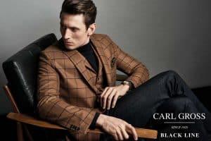 Carl Gross Black Line Autumn/Winter 2018 Men's Lookbook